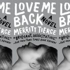 side by side series of the cover of Love Me Back