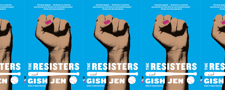 cover of The Resisters in a side by side series