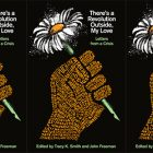 cover of There's a Revolution Outside My Love in a side by side series