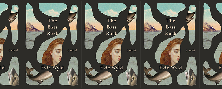side by side series of the cover of the Bass rock