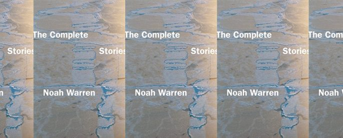 side by side series of the cover of The Complete Stories by Noah Warren