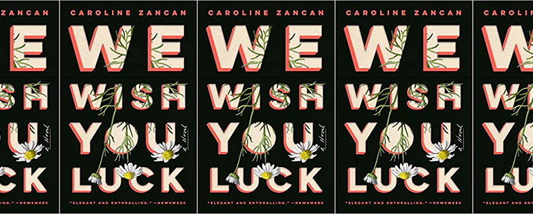 side by side series of the cover of We Wish You Luck