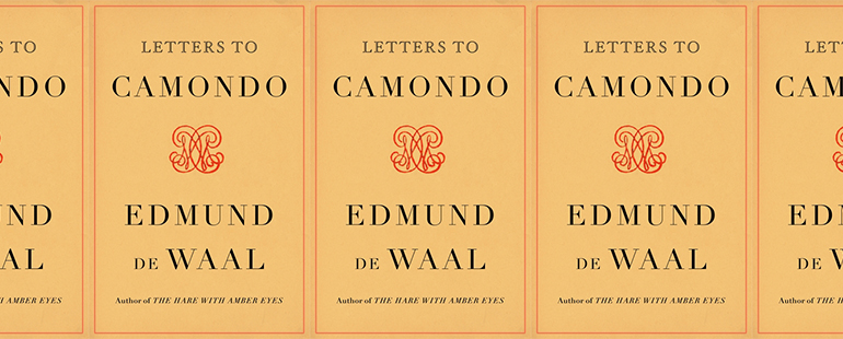 side by side series of the cover of Letters to Camondo