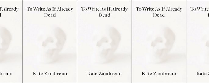 cover of To Write As If Already Dead in a side by side series