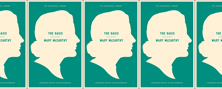 side by side series of the cover of McCarthy's Oasis
