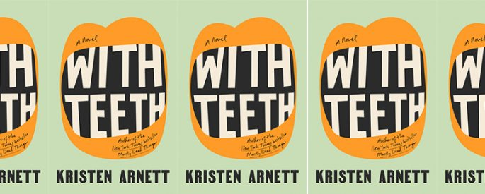 cover of With teeth in a side by side series