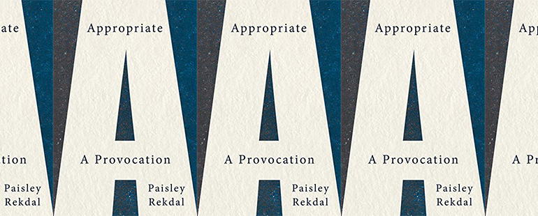 side by side series of the cover of Appropriate