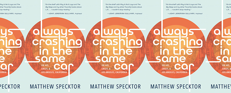 side by side series of the cover of Always Crashing in the Same Car