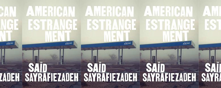 side by side series of the cover of American Estrangement