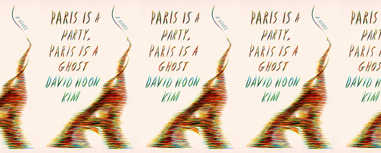side by side series of the cover of paris is a party, paris is a ghost