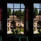 side by side series of the cover of The Umbrian Sonnets