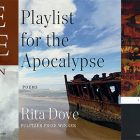 side by side series of the cover of The Wasteland, Playlist for the Apocalypse, and The lice