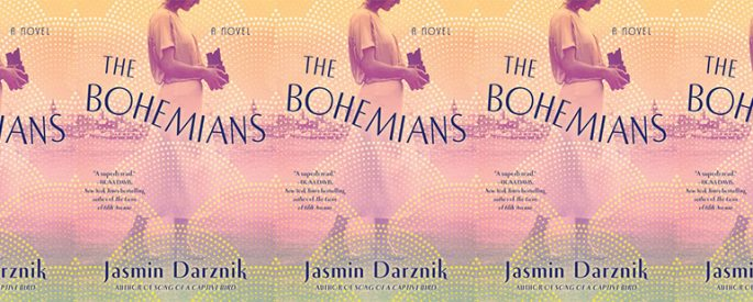 side by side series of the cover of the bohemians