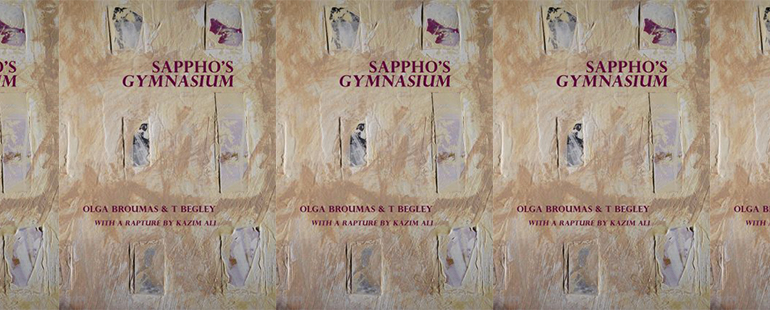 side by side series of the cover of Sappho's gymnasium