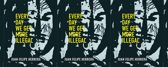 side by side series of the cover of every day we get more illegal by juan felipe herrera