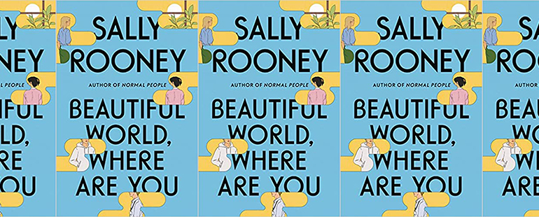 side by side series of the cover of Beautiful World, Where Are You