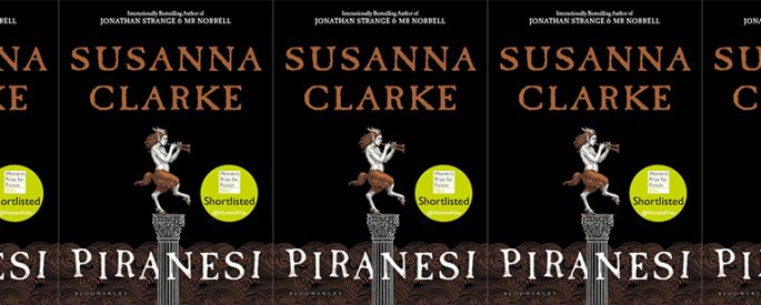 side by side series of the cover of Piranesi