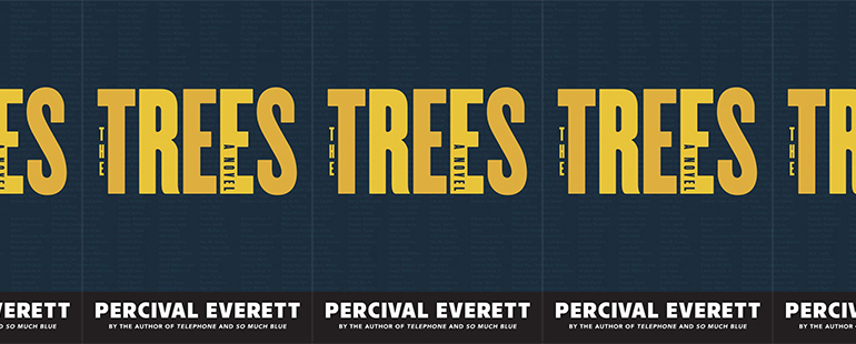 side by side series of the cover of The Trees