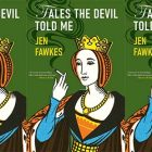 side by side series of the cover of the cover of Tales the Devil Told me
